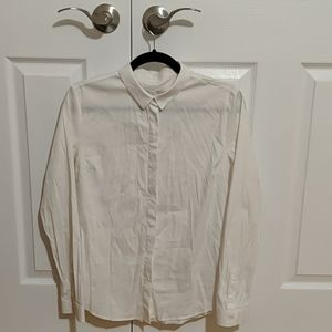 COS White Buttoned Blouse